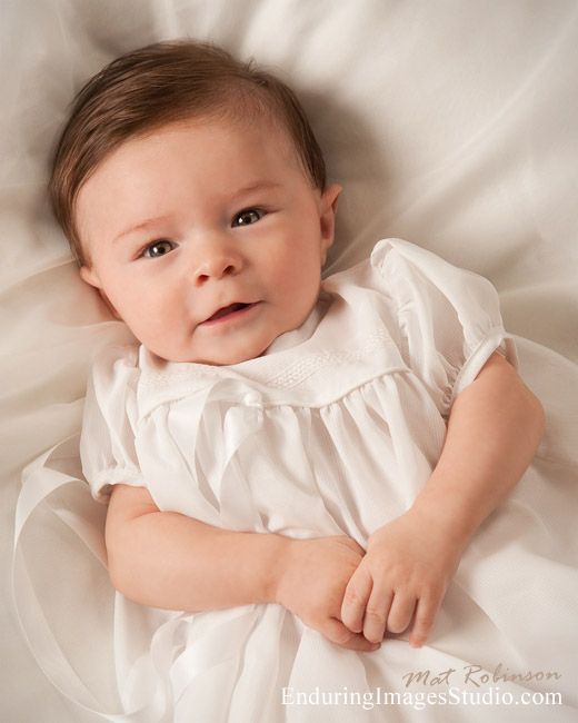Christening gown, baptism photographer in Denville NJ, Morris County