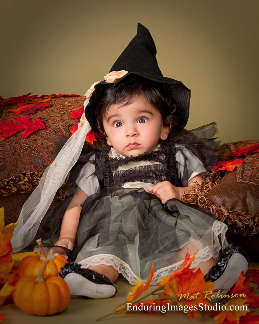 Halloween portrait studio