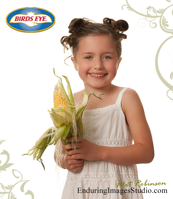 Birdseye Foods commercial photo shoot featuring child models and food. Rockaway, Morris County