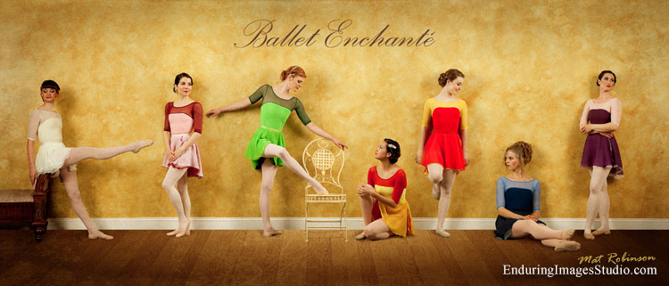 Ballet dance photography studio