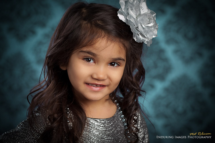 Childrens modeling portfolio images and professional headshots