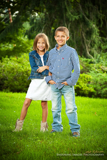 Outdoor childrens portraits - NJ