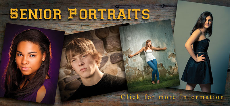Senior portraits and prom portraits