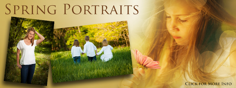 Spring Portraits - Morris County photographer specializing in outdoor family portraits, children and senior portraits.